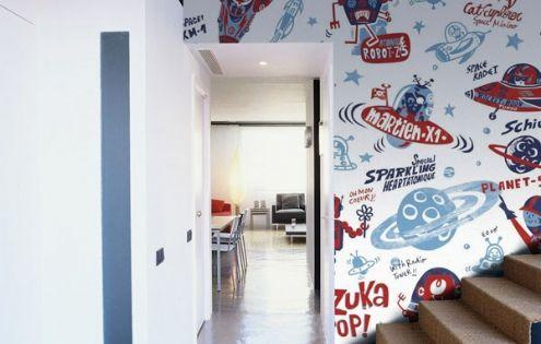 Murales en gran formato para habitaciones juveniles m s - Murales en habitaciones ...
