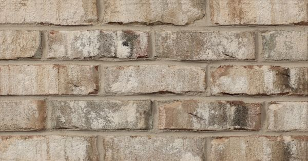 Cabot By Glen Gery Brick Is A White Extruded Brick From