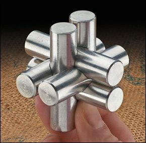 Lee Valley Burr Puzzle Lee Valley Tools Metal Lathe Projects Easy Woodworking Projects Metal Puzzles