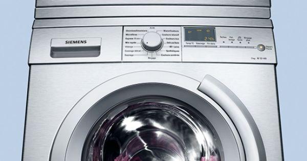 A siemens tumble dryer and siemens washing machine are for Lavatrice doppio cestello