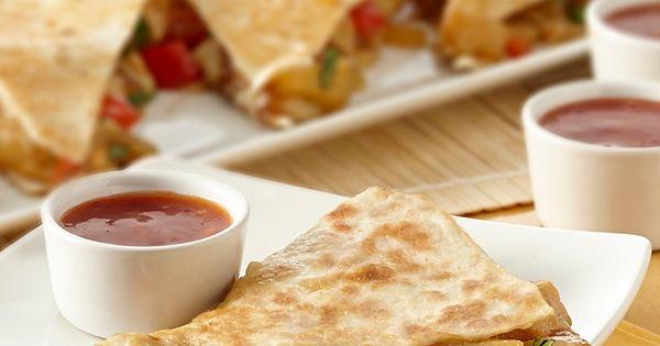 Sweet & Sour Chicken Quesadillas | Recipe