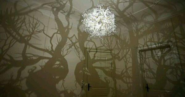 Tree lamp shadow  lamp  Pinterest