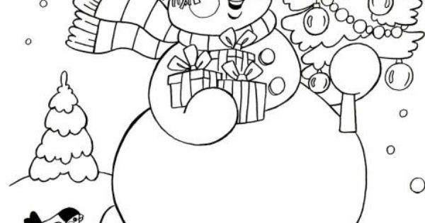 bałwanek 13 | cahiers enfants maternelle | Pinterest