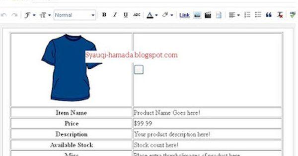 Cara Membuat Blogspot Menjadi Toko Online Blog Website Pendidikan