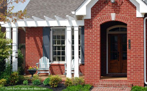 Patio Ideas to Expand Your Front Porch in 2019 | Front yard ... on