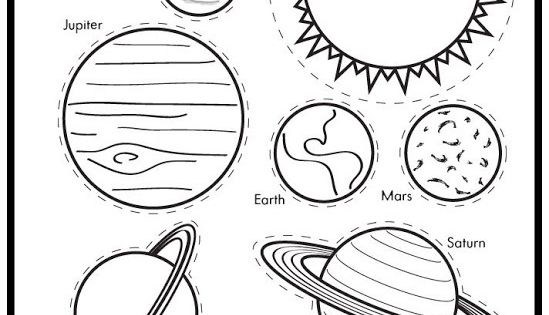 Solar System Coloring Pages (lots Of Them) Kids At Repinned.net