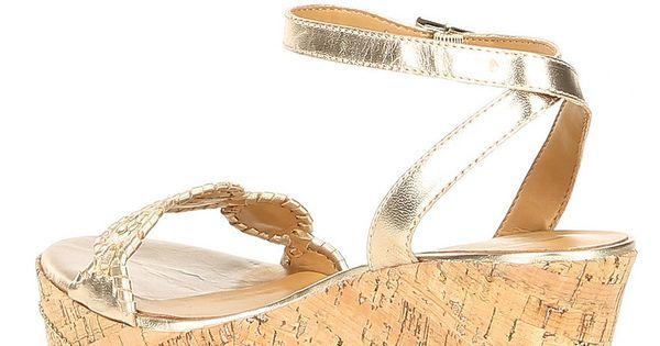 Jack Rogers Keri Leather Wedge Sandals#Keri, #Rogers, #Jack