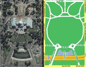 Satanic Occult Symbols in Washington D.C.; A bird\'s-eye view ...