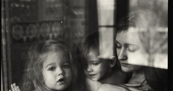 "Love the ""through the window"" shot. Unexpected for family photography."