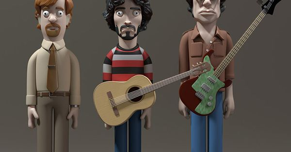 Flight Of The Conchords Vinyl Idols By Evil Corp