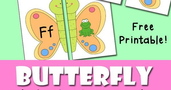 Butterfly Alphabet Sound Puzzles