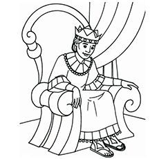 David Crowned King Vbs Thursday Sunday School Coloring Pages