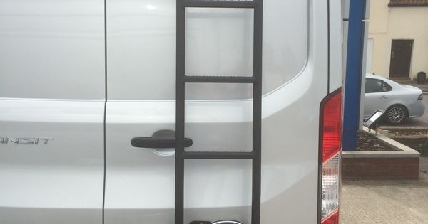 Rhino Rear Door Ladder For Ford Transit Transit Ideas