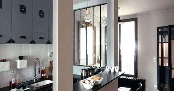 Une cuisine ouverte m tamorphose d 39 un studio de 25m2 mal agenc c t m - Amenagement studio 25m2 ...