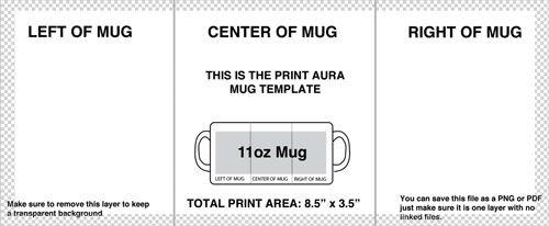 Mug Printing Design Ideas Mug Template Sublimation Mugs Mug Printing