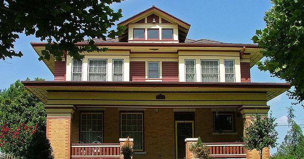 Historic craftsman in el reno oklahoma craftsman for Craftsman style homes dfw