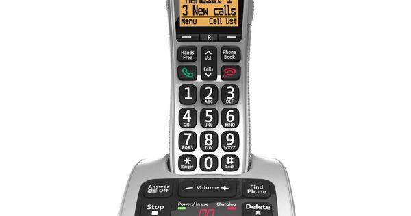 bt 4500 big button digital cordless answerphone with nuisance call blocker bt cordless phones. Black Bedroom Furniture Sets. Home Design Ideas