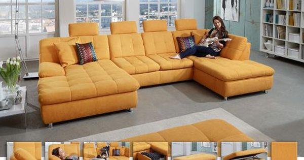 Polstergarnitur Beauty Gelb Von Megapol | Möbel Letz   Ihr Online Shop |  Wohnzimmer | Pinterest | Interiors