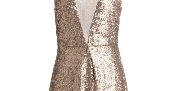 Christmas Party Dress - Taupe and Dream Dress