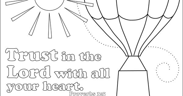 trusting others coloring pages - photo#21