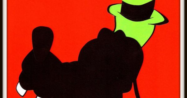 Disney Goofy Profile Silhouette Minimalist By