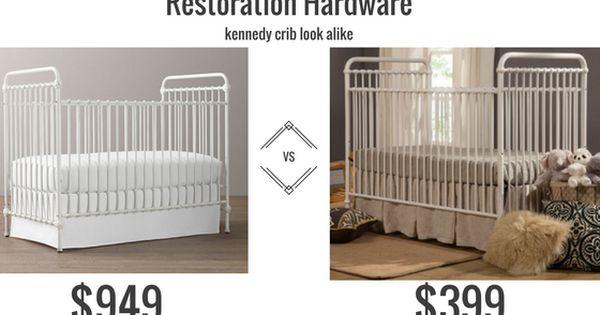 Restoration Hardware Kennedy Iron Crib Look Alike Cribs Iron Crib Restoration Hardware