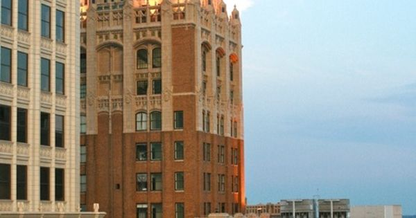 The Philtower Building in downtown Tulsa. This is a ...