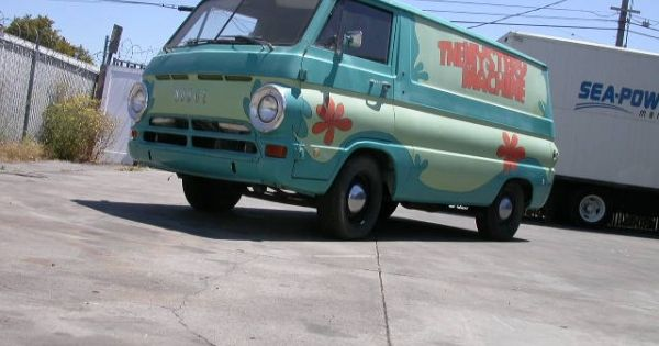 1969 Dodge A100 van in Scooby Doo Mystery Machine paintscheme! $7800.....let me