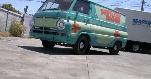 1969 Dodge A100 van in Scooby Doo Mystery Machine paintscheme! $7800.....let me