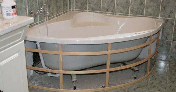 Comment habiller une baignoire d 39 angle 34 messages for Hauteur d une baignoire d angle