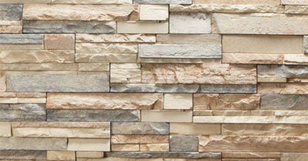facade stacked stone tile styling main level pinterest stone