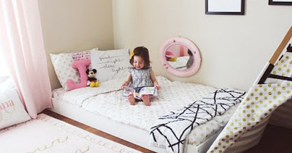 Look At This Idea To Decorate The Kids Room The Bed At The Floor