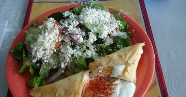 Spanakopita, Spinach and feta and Feta on Pinterest