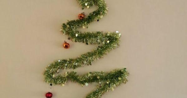 Un rbol muy sencillo y a la vez elegante y moderno - Arbol de navidad sencillo ...