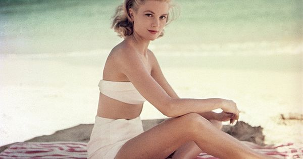 Beach Beauty Grace Kelly