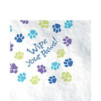 Party Pups Party Supplies Party Pups Birthday Party City Party Napkins Paper Party Napkins Puppy Party