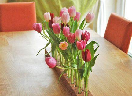 fr hlingsdeko f r zuhause deko blumen tulpen ostern fr hling pinterest tische shops. Black Bedroom Furniture Sets. Home Design Ideas