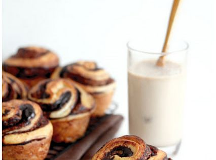 chocolate brioche rolls recipe bread