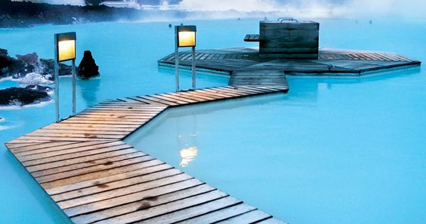 The Blue Lagoon, Iceland - The Blue Lagoon in Reykjavik, Iceland is