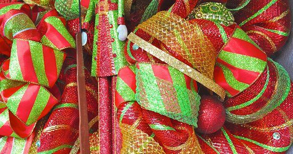 Christmas Deco Mesh Wreath deco mesh wreath christmas