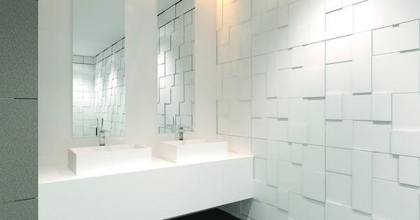 Burgmans puurwit solid surface wastafels wastafels badkamer idee n voorbeelden pinterest - Klein badkamer model ...