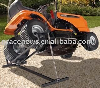 Mower Lift Jack View Lawn Mower Stand Gn Product Details From Grace News Inc On Alibaba Com Lawn Mower Repair Lawn Mower Mower