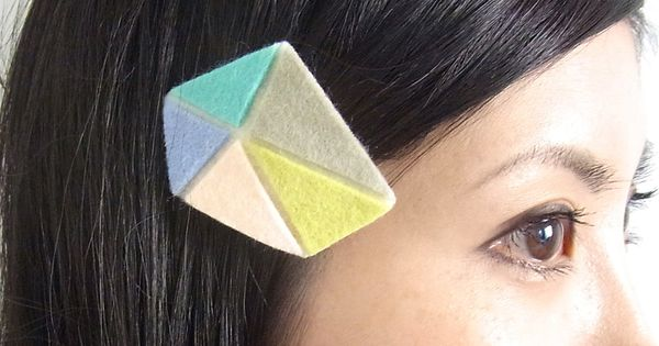 Kid Friendly - Mosaic Hair Clip / Homako