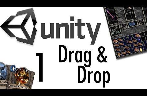 Unity tutorial drag drop tutorial 1 rpgs card games for Unity 3d room design