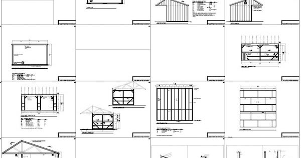 Run In Shed Plans Build A Run In Shed With A 6 39 Covered