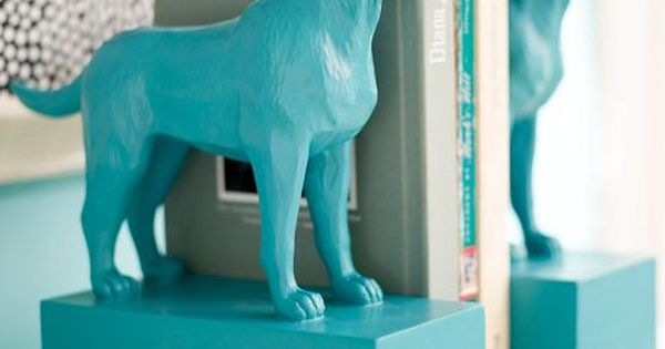 DIY Plastic Toy Bookends!