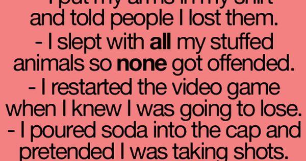 pretty sure i still do that minus the stuff animals