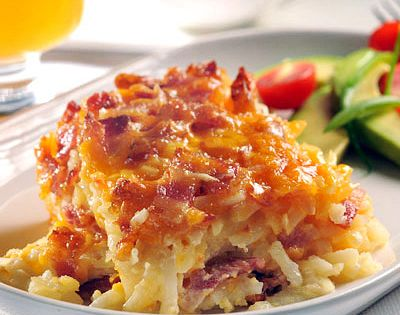Breakfast Potato Bacon Casserole recipe