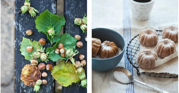 Pear, Hazelnut and Brown Butter Cakes - food styling and photography ...