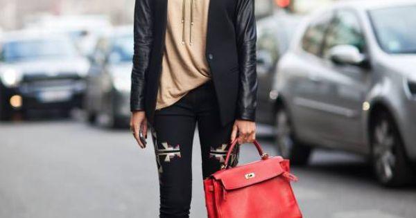 navajo fashions | Social Wardrobe: Street Style: Isabel Marant Navajo Jeans